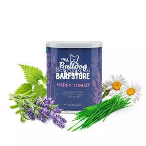 """Emésztést támogató gyógynövénykeverék """"Happy Tummy"""" (MyBulldogShop) - Barfstore"""